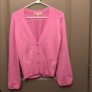 Juicy Couture fuchsia button top